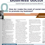 Business Doctor: How to Use Social Media for Your Business.